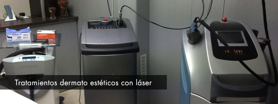 Tratamientos dermato estéticos con láser